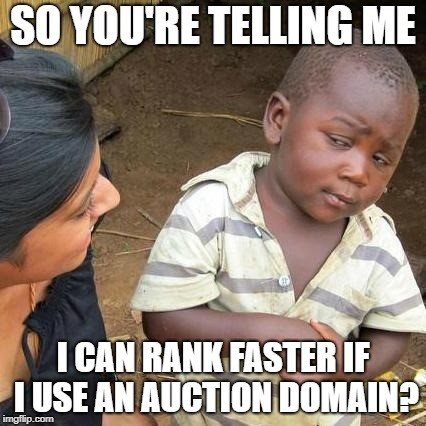 auction domain meme