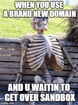 waiting for sandbox meme